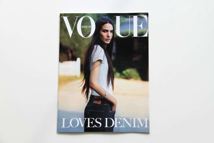 vogue, denim