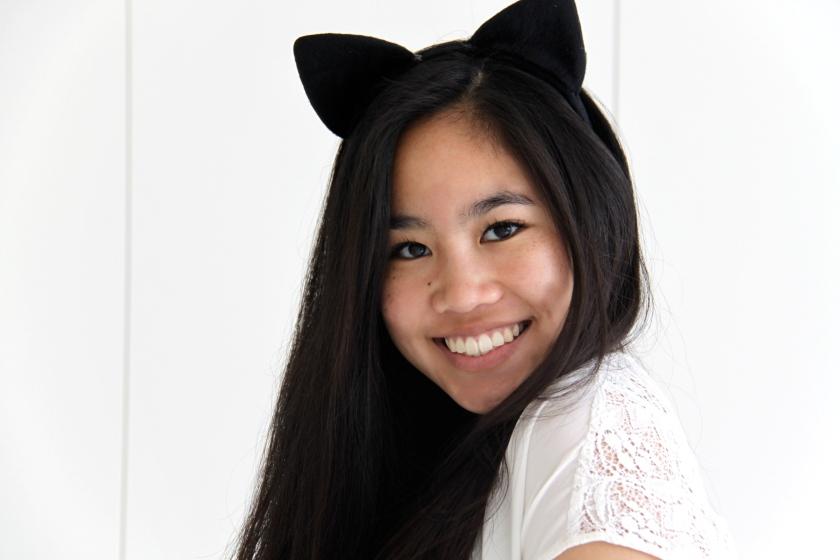 cat, girl, catwoman