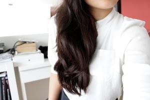 hair, waves