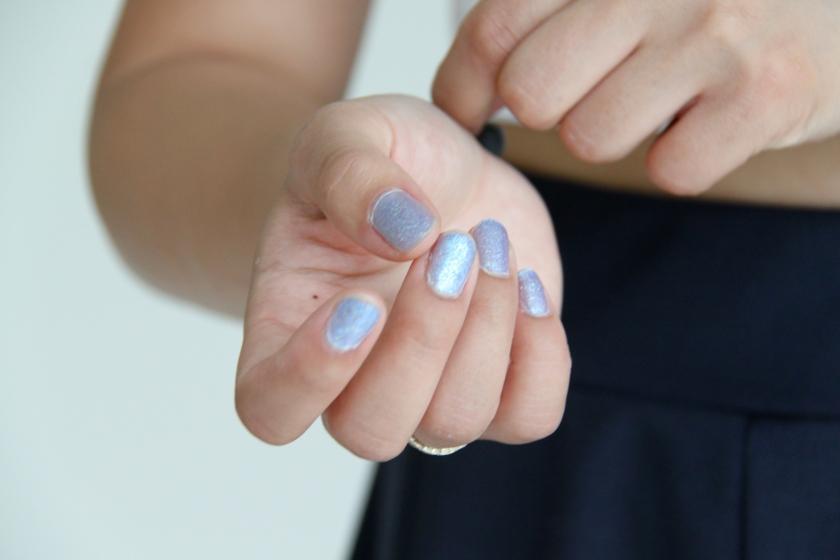 nails, rings
