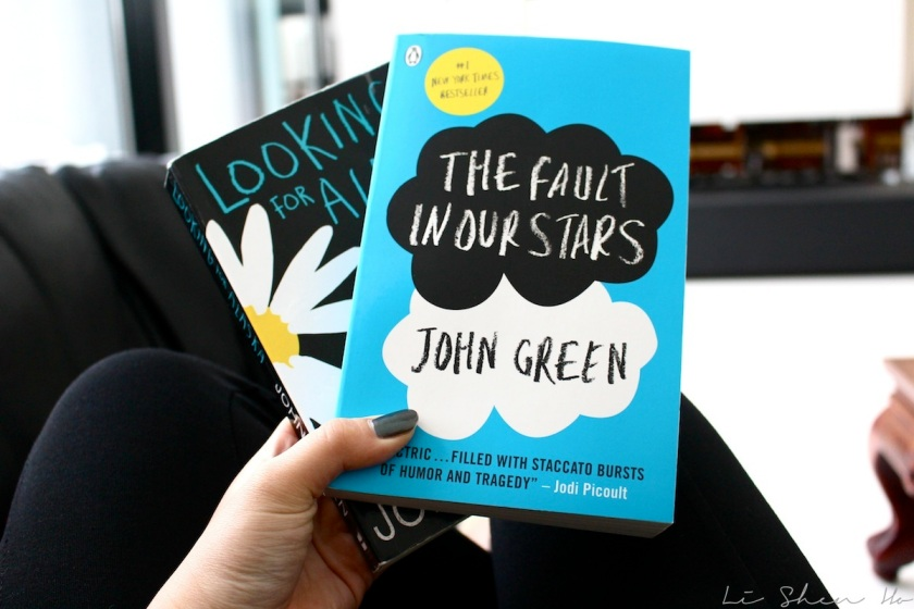 the fault in our stars, looking for alaska, john green