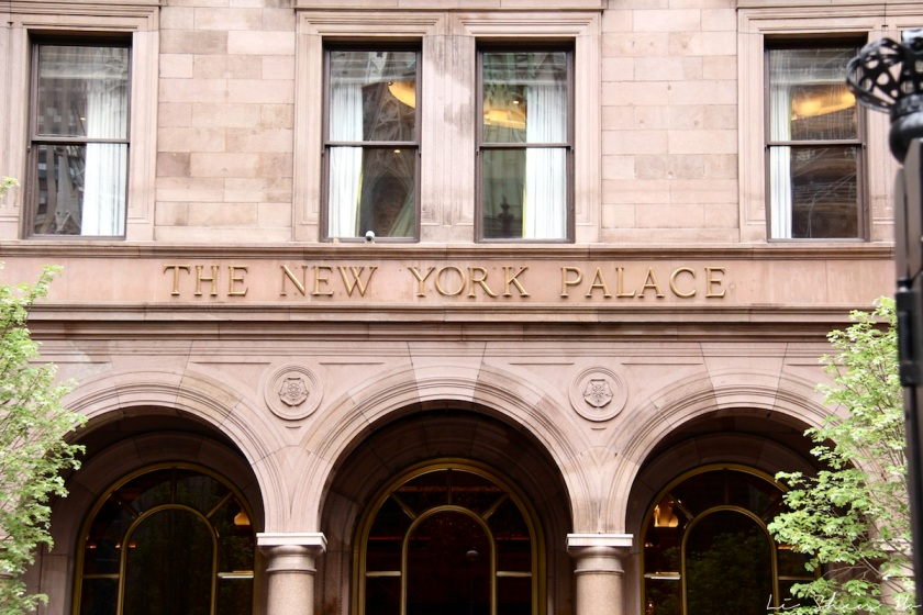 new york. new york palace hotel